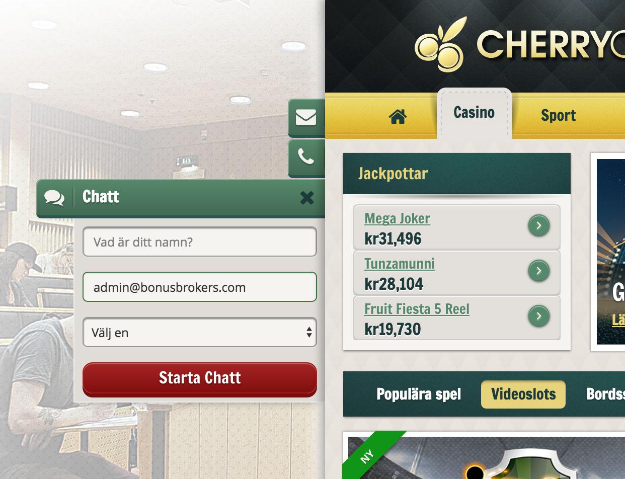 Cherry Casino Support